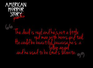 American Horror Story Quotes.