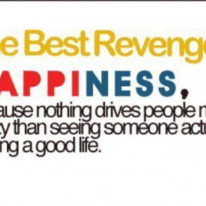What a great revenge.