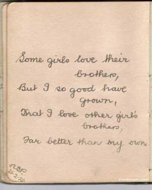 quotes about brother love