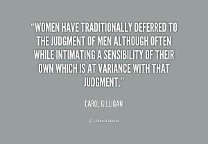 Quotes by Carol Gilligan