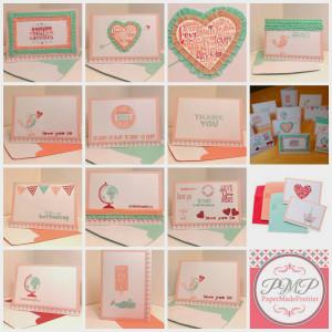 Sweet Sayings notecards