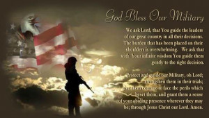 The Prayers of our Soliders