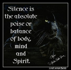 Silence.... | ★*Quotes~Native American
