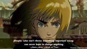 Armin Attack On Titan Quotes