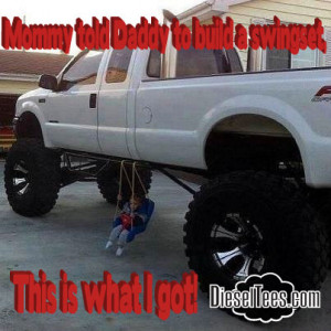 swingset 300x300 Funny & Amazing Diesel Truck Pictures & Memes from ...