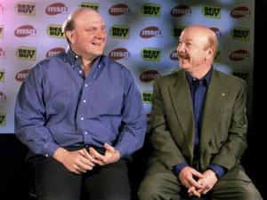 ... talks with Microsoft President Steve Ballmer in Redmond, Washington