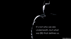 Predecessor, it was still a Batman Movie Quotes but mainly in style at ...