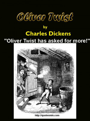 Charles Dickens - Oliver Twist Literary Quote: