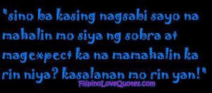 Tagalog Love Quotes Pagmamahal