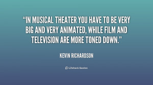 Musical Theater Inspirational Quotes