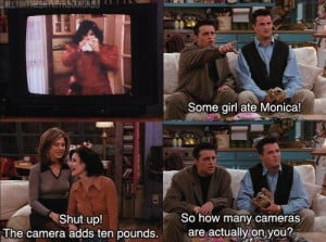 Phoebe(To Monica and Rachel): If I were in prison, you guys would be ...