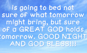 Good Night Facebook Quotes Good night and god bless!