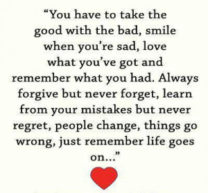 ... of the blog to see many more inspirational quotes about life lessons