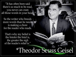Theodor Seuss Geisel was an American author, rhymer, and caricaturist ...