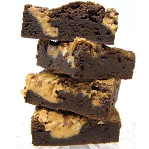 Belgian Chocolate Peanut Butter Brownies