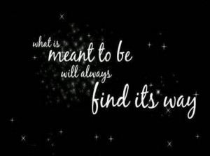 Destiny, Fate, Serendipity...   Just Quotes   Scoop.it