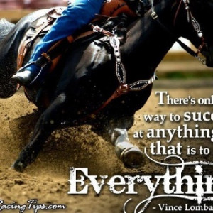 Inspirational Barrel Racing...