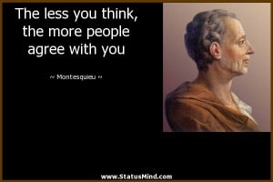 Montesquieu Quotes