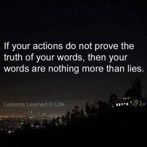 ... prove the truth of YOUR words and YOur words are nothing than LIES