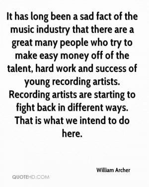 It has long been a sad fact of the music industry that there are a ...