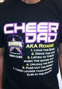 cheer dad more cheerleading t shirts cheerleading shirts dad cheer dad ...
