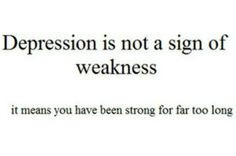 overcoming depression quotes stylegerms more feelings weak depression ...