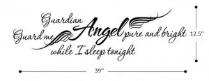 Guardian Angel Quotes And Sayings Guardian angel pure and