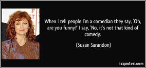 People Say Funny Quote...