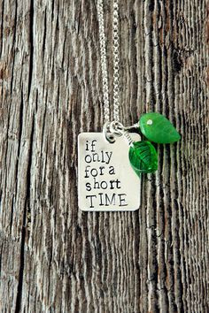 ... +for+a+Short+Time+Necklace+Foster+Care+by+therhouse+on+Etsy,+$42.00