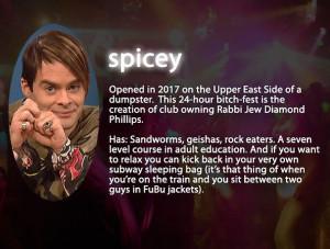 Stefon's Club Guide | Photo Gallery | Saturday Night Live | NBC