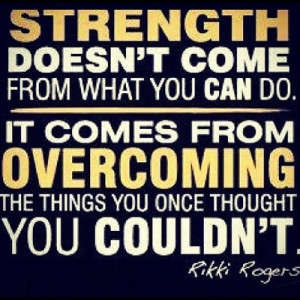 Strength Picture Quote