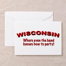 Funny Wisconsin badgers Greeting Cards (Pk of 10)