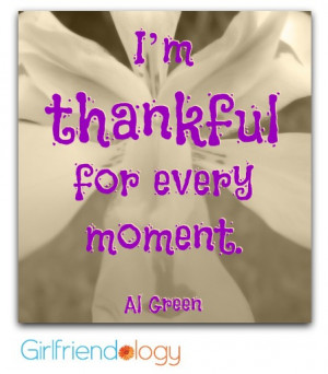 The Go-To Girlfriend / Girlfriend Gratitude & #ThankfulThursday
