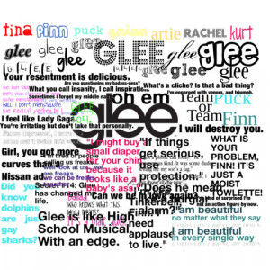 glee quotes - Polyvore