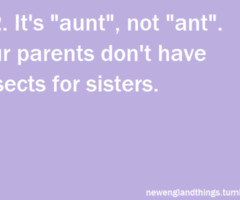 Tagged with aunt quote