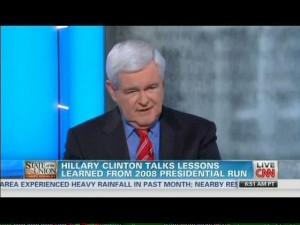 Newt Gingrich Basically Called Hillary a 'Political Kardashian' in ...