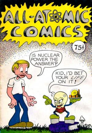 "All Atomic Comics,"" by Leonard Rifas."