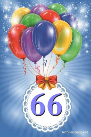 66th birthday wishes