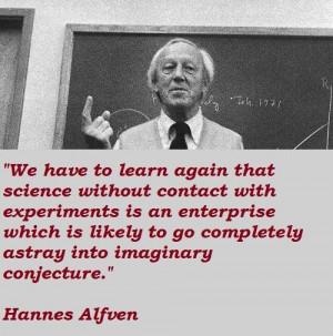 Hannes alfven famous quotes 4