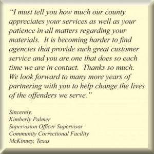 Correctional Officer Quotes Community correctional