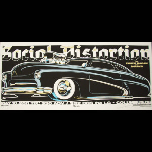 Social Distortion Screen Printed Poster