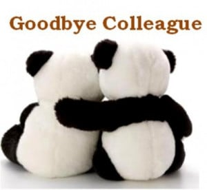 Writing a goodbye letter to co-workers is a respectful way to head off ...