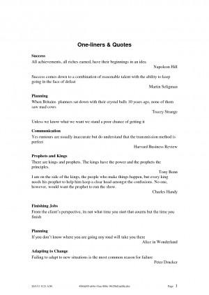 One-liners _ Quotes.doc by yan198555