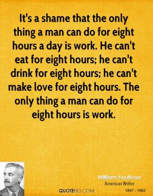 William Faulkner Work Quotes