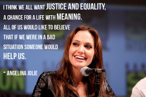 Angelina Jolie Angei's quotes