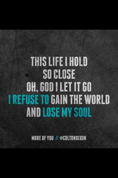 Colton Dixon - More of You More