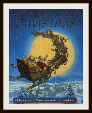 Twas the Night before Christmas (Poetry)