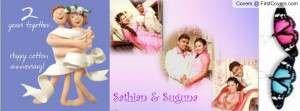 2nd Wedding Anniversary Profile Facebook Covers