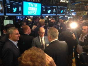 twitter ceo dick costolo nyse floor twitter ipo