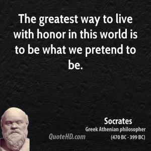 Greek Philosopher Socrates Quotes